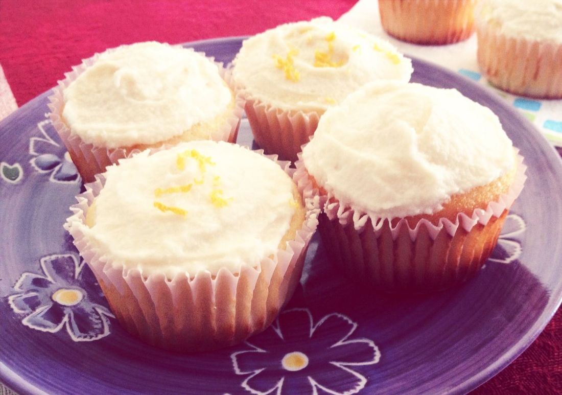 Lemon Cupcakes Homemade Treats