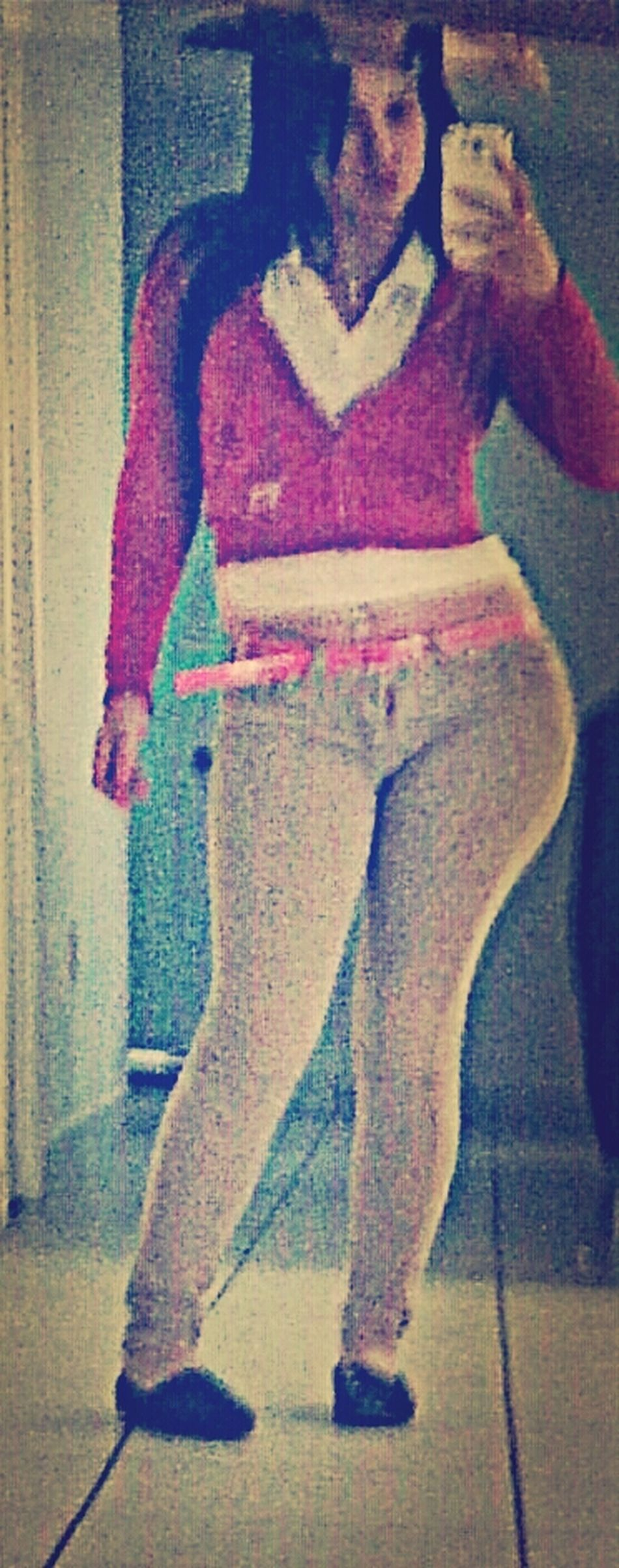 At bestfriend's house  #Pink #earliertoday 