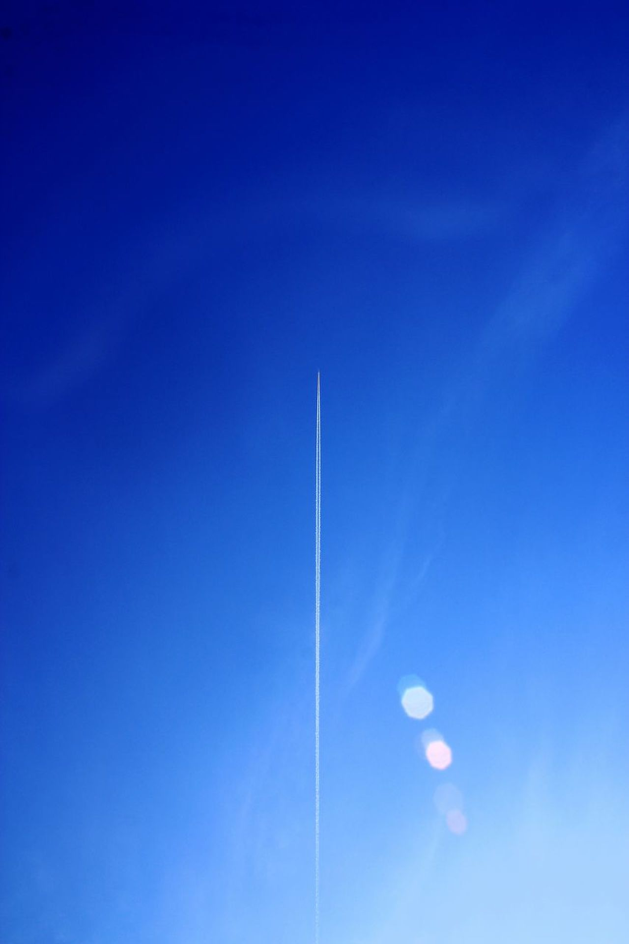 Blue Vapor Trail Clear Sky Flying Airshow Low Angle View Airplane Day No People Sky Outdoors Motion Aerobatics Fighter Plane Air Vehicle Air Force Nature