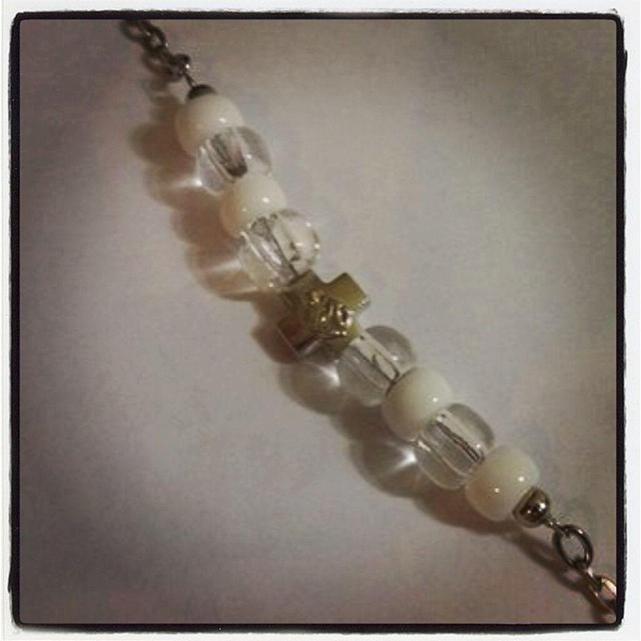 браслет бижутерия мода крест купить подарок авторскаяработа ручнаяработа bracelet fashion style