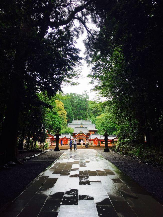 霧島神宮 in Kagoshima , Japan Japanese Temple