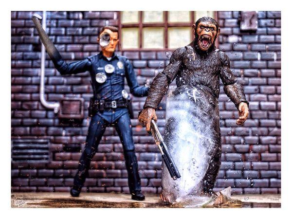 Freeze!! Terminator Planetoftheapes Toysarehellasick Toy Photography Toycommunity Welcomeweekly Eye4photography  EyeEm Best Shots EyeEm Toyphotography Toyphotography