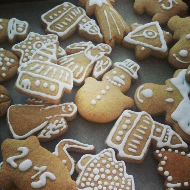 Christmas Winterzauber Kekse Lebkuchen