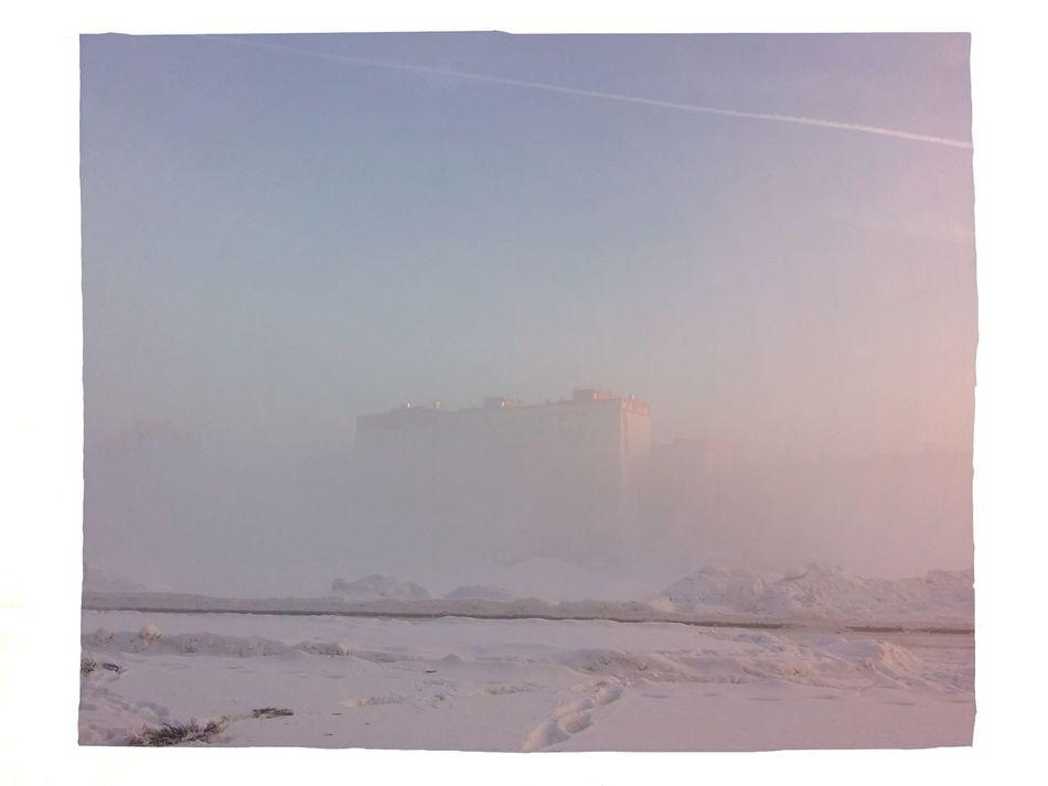 Туманное утро в Матрешках novosibirsk новосибирск зима утро жкматрешкиндвор Novosibirsk