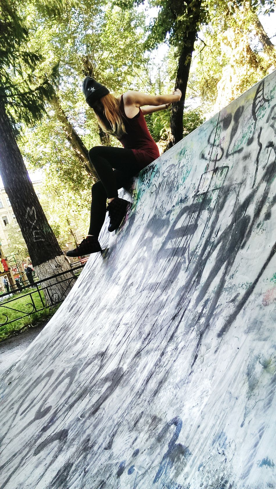 Skate Skate Park Girl Art