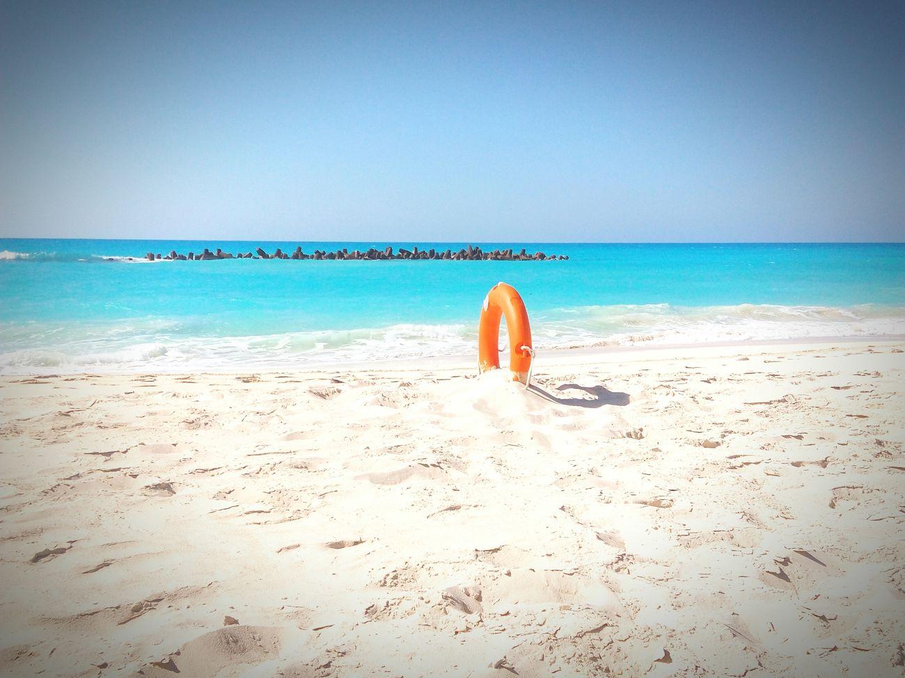 Egypt Passion Beauty Sea North Coast Blue Sky Sand Alexandria Egypt Baywatch Morning