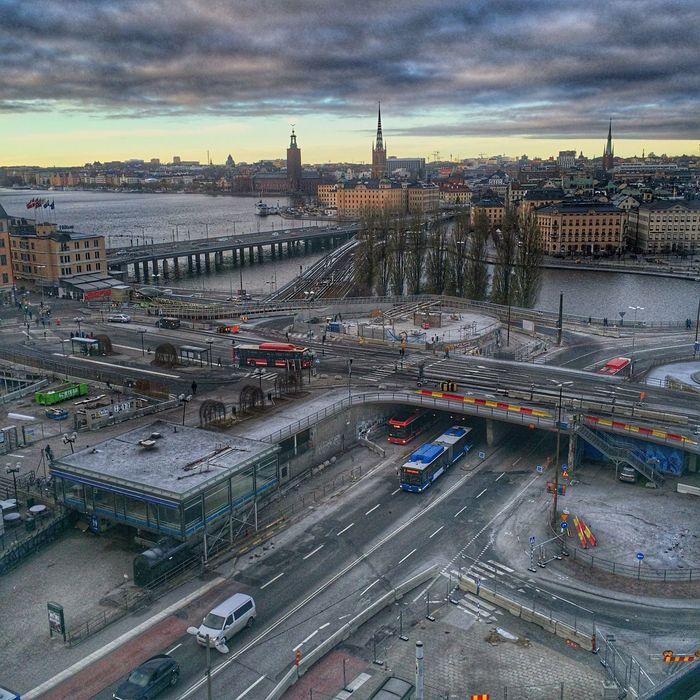 Stockholm City City Life Urbanphotography Urban Lifestyle Slussen Gondolen Bridge Check This Out Hello World Taking Photos Enjoying Life Relaxing