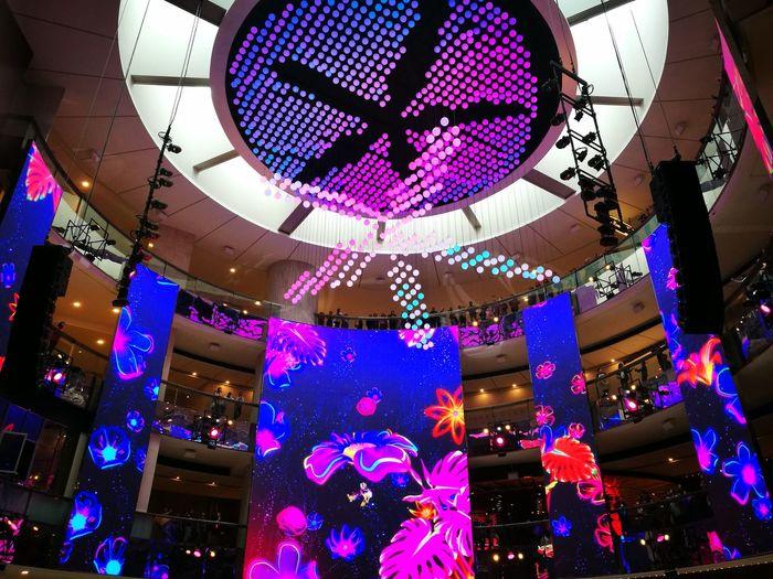 Chinese New Year New Year 2018 Light Light Show Beautiful