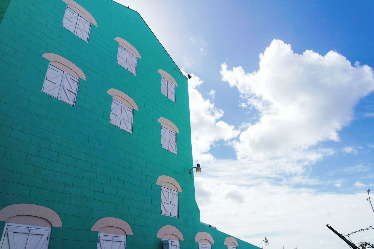 Lookingup in Barbados Cloud - Sky Sky No People Outdoors Day Streetphotography Eye4photography  EyeEm Best Shots Fresh 3 Open Edit Travel Destinations Exterior Built Structure Building Exterior Building