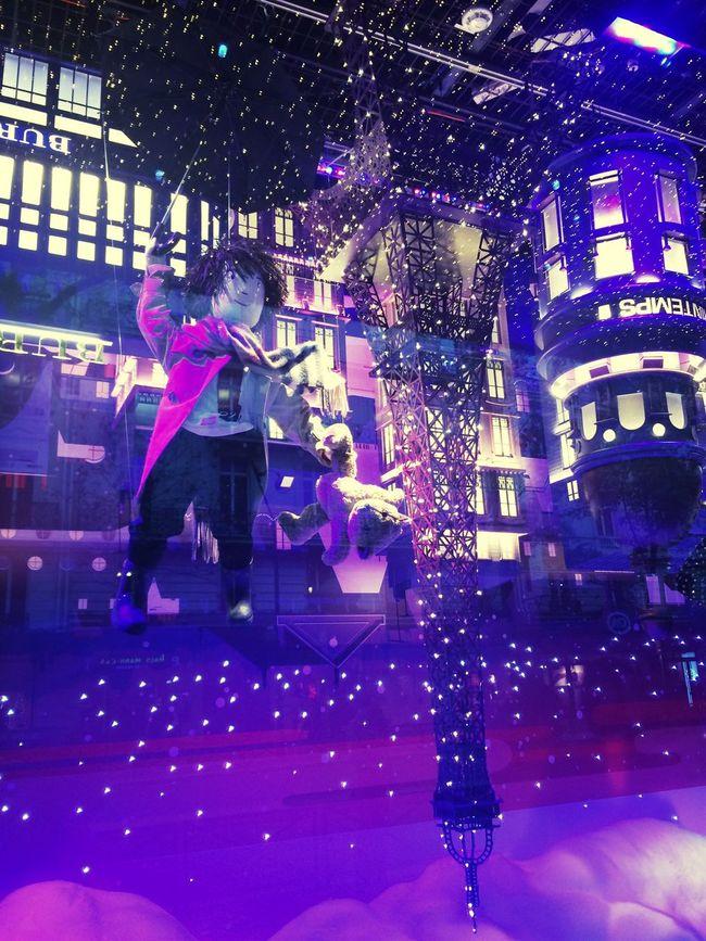 Christmas Lights Christmas Decorations Tour Eiffel