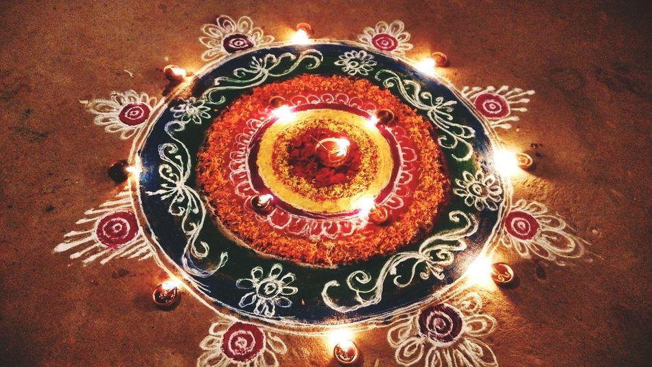 Rangoli Diwali 2015 Diwalicelebrations Diwali Colorful Rangoli. Festivaloflightrangoli