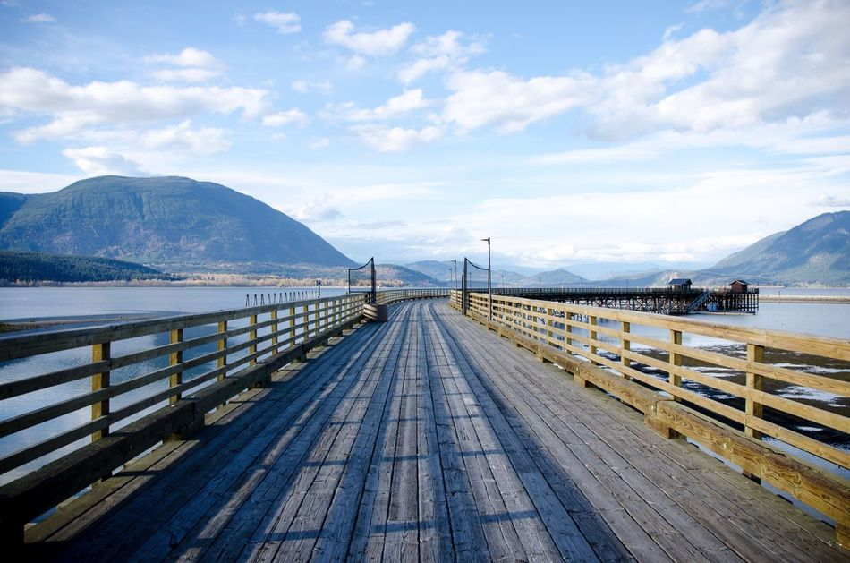 Beautiful stock photos of blue,  Beauty In Nature,  Bridge - Man Made Structure,  British Columbia,  Cloud - Sky