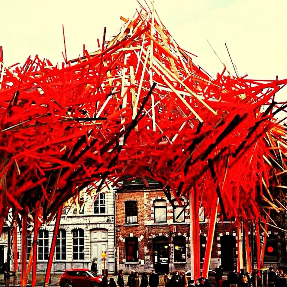 Structures Bois Arts Streetphotography Streetart Belgium Design Chose Grand Volume