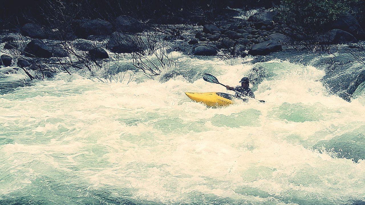 Water Outdoors Extreme Sports Adventure Sport Exploring Kayaking