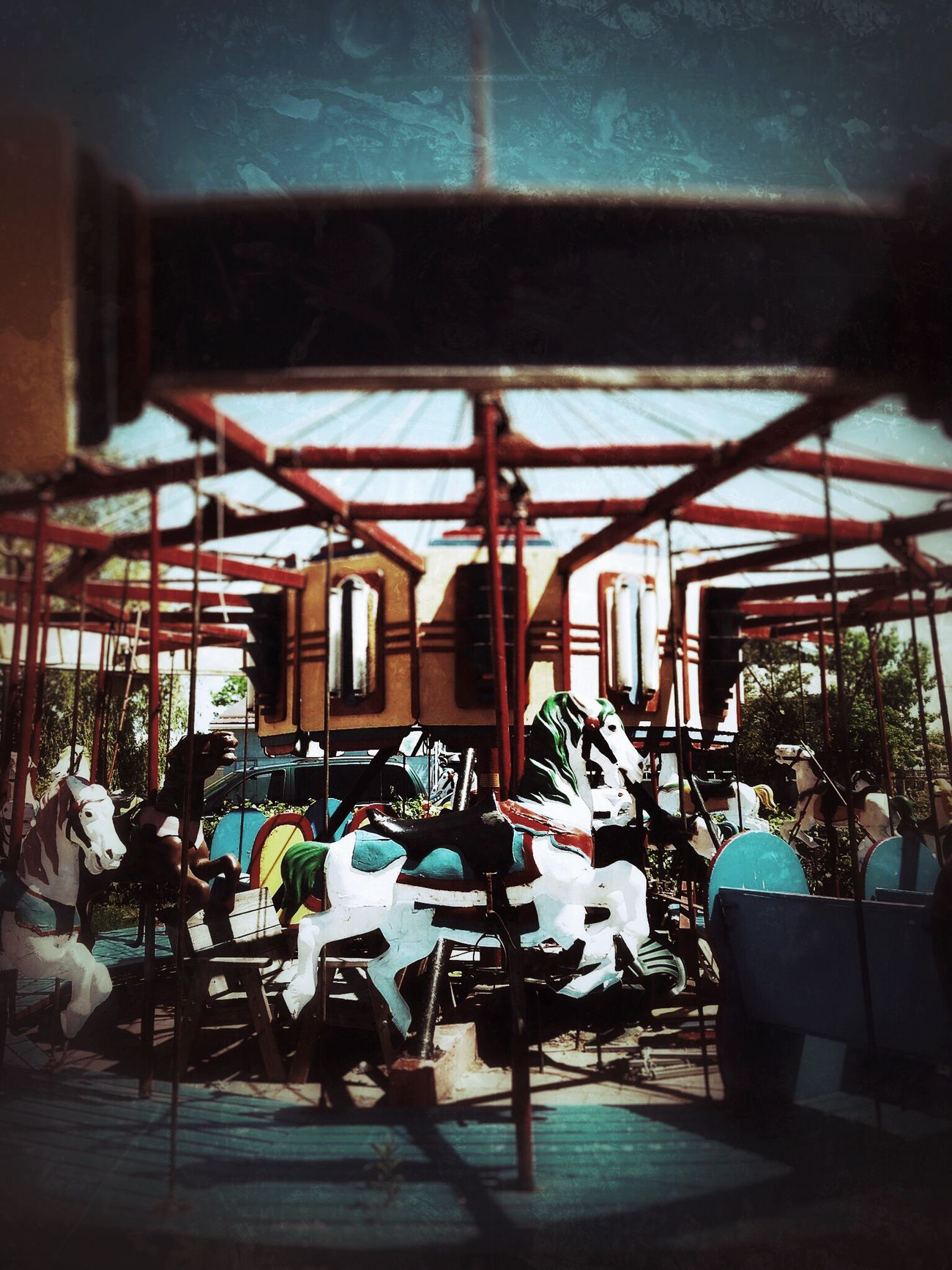 IPhoneography IPhone Carousel Carousel Horse Summer Resort Port Dover