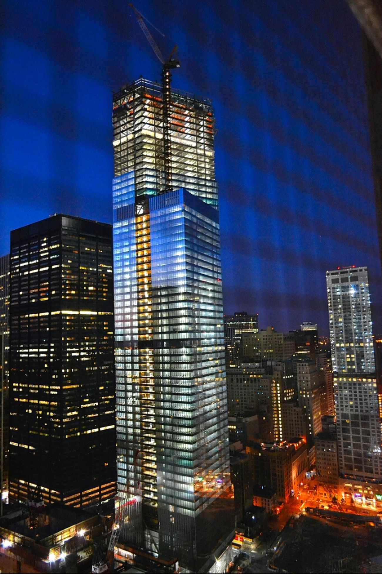 Working Downtown New Rising WorldTradeCenter Financial District  4WTC FourWTC