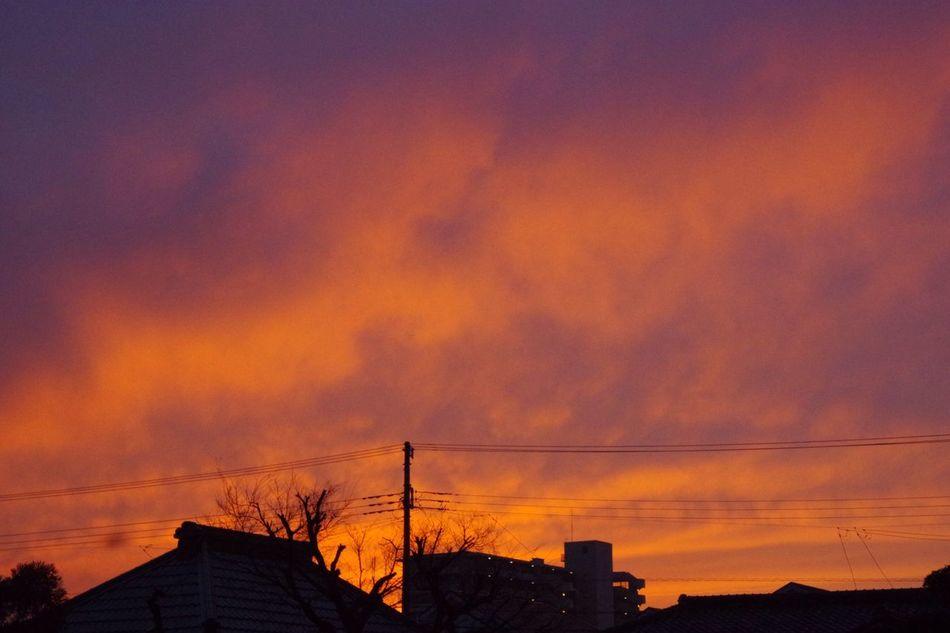 おつかれさま。 Sunset 夕暮れ時 おつかれさま Pentax K-3 Twilight Afterglow