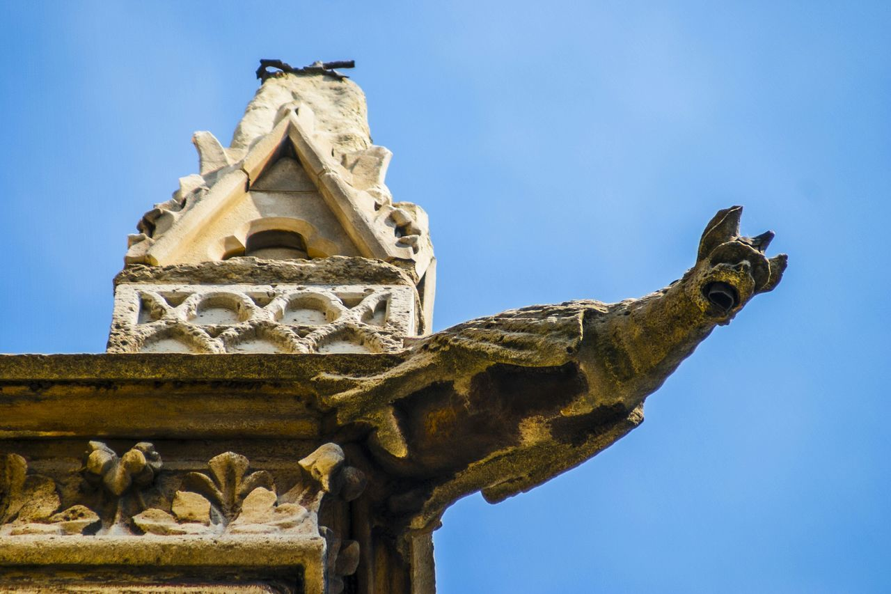 Beautiful stock photos of notre dame, Animal Representation, Architecture, Art And Craft, Blue