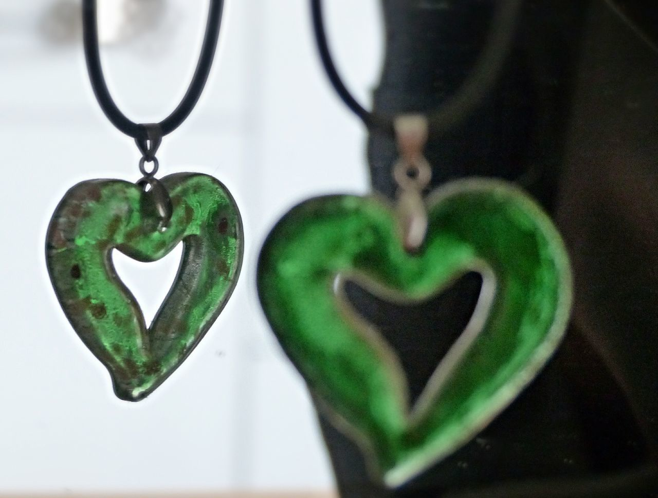 Beautiful stock photos of jewelry, Close-Up, Germany, Green Color, Heart Shape
