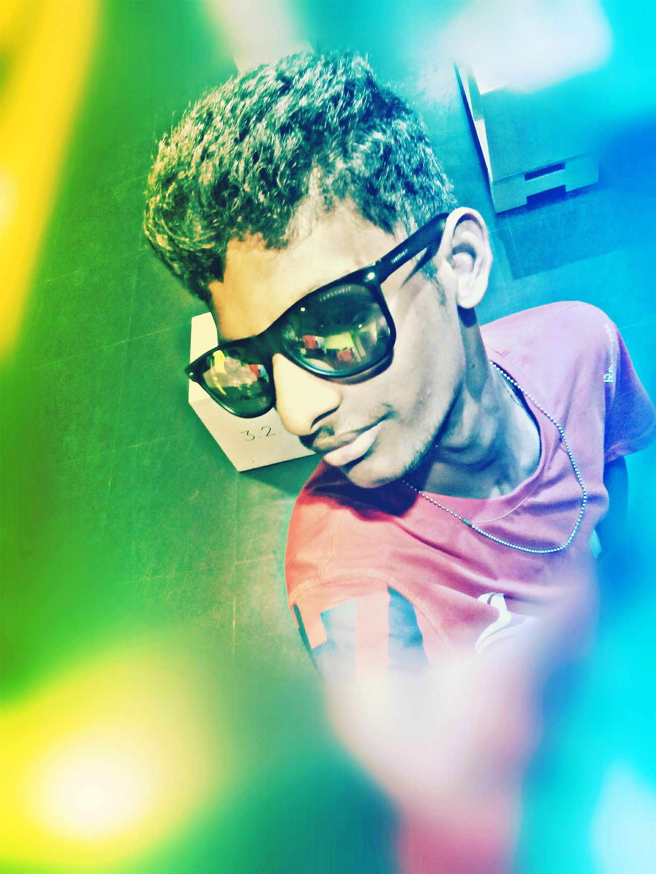 Its me Selfie ✌ Pulla Give Me A Kiss ... Now Looking Awesome Sunglasses :) My Photography. ❤ Making A Difference Edition Photography Fashion Hair