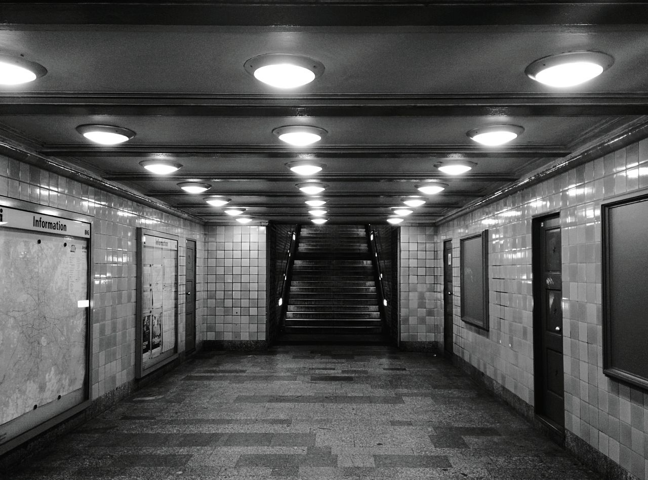 Day 360 - U-Bahn station at night Berlin Blackandwhite Public Transportation Monochrome Photography Ubahn 365project 365florianmski Day361