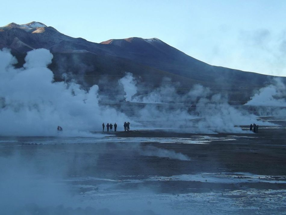 Cold Cold Temperature Travel Travel Destinations Traveling Travel Photography Nature Amazing_captures Amazing Nature Water Altitude Silhouette Desierto De Atacama HotWater Dawn Dawn Of A New Day Miles Away