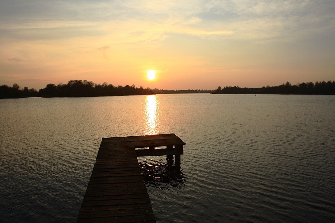Paterswoldsemeer sunset Groningen Canon1000D
