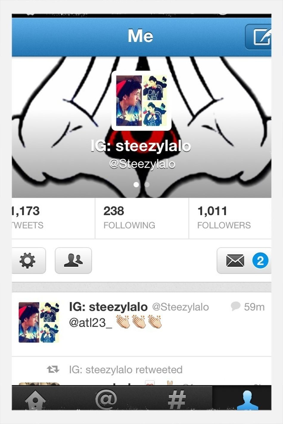 Follow Me On Twitter Too!:p @steezylalo