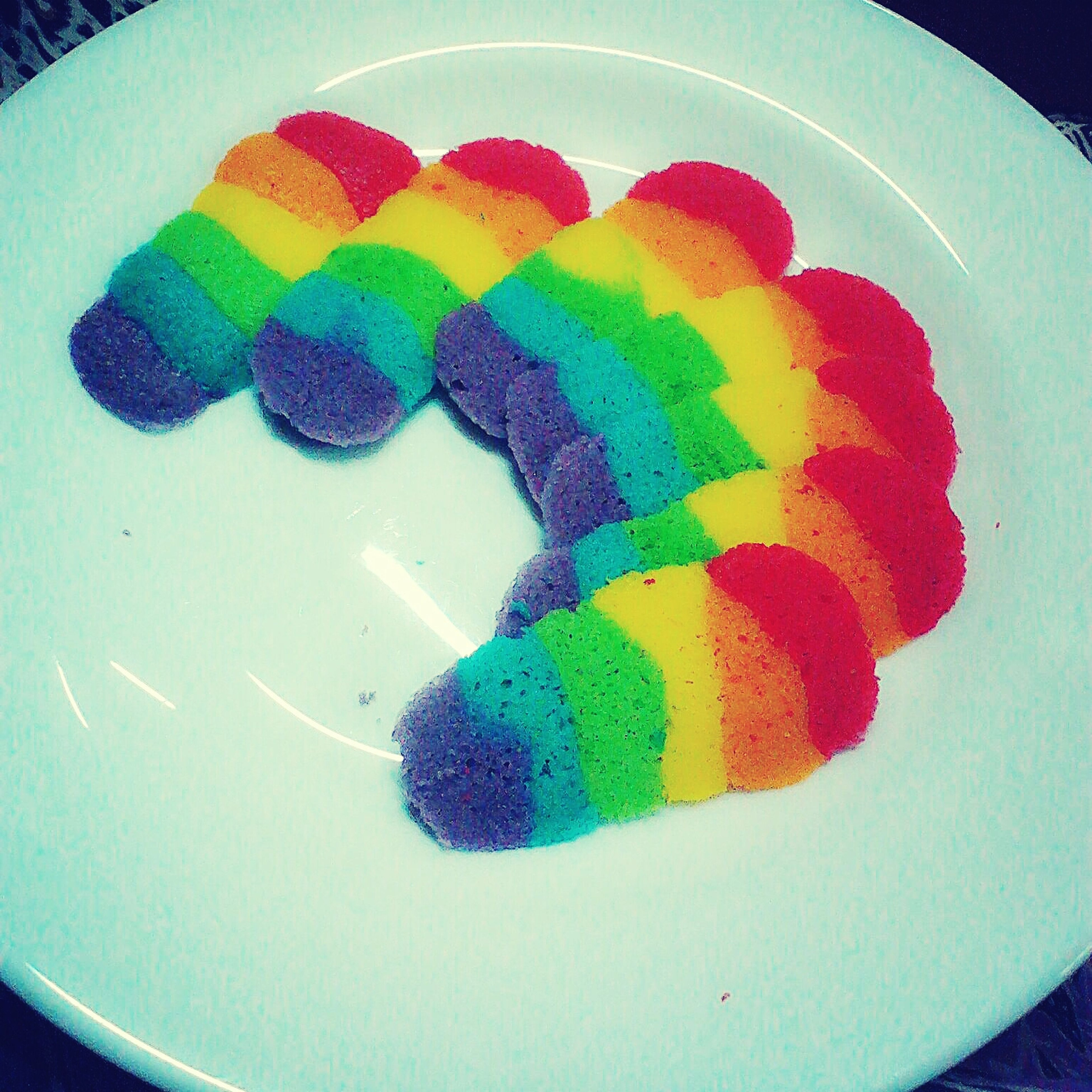Malaysian Rainbow Cookies : Biskut Lidah Kucing ( Cat Tongue Biscuits ) Rainbow Sweet Biscuit Malaysian Food