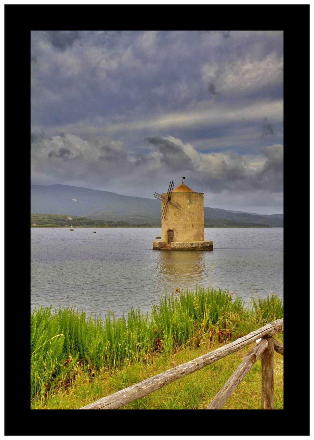 Orbetello Water Sky Built Structure Architecture Cloud - Sky Sea Building Exterior No People Nature Scenics Day Lighthouse Outdoors Beauty In Nature Nautical Vessel Windmill