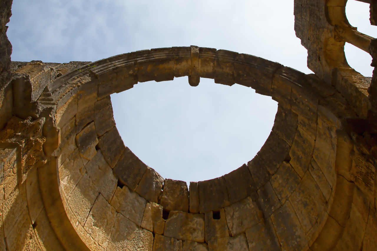 Alahan Monastery Alahan Monastery Alahan The Monastery Ancient Ancient Civilization Arch Architecture Dome Faithful History Monastery Mut Old Ruin Religious  Religious Architecture Sky And Clouds Stone Material Travel Destinations Turkey
