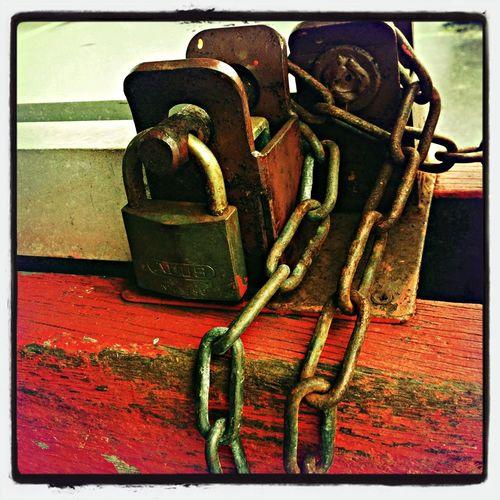 Streetphotography Locks Chain Hipstamatic