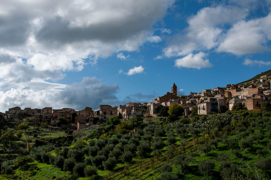 Dramatic Sky Earthquake History Italy Landscape_Collection Landscape_photography Old Ruin Old Town Sicily