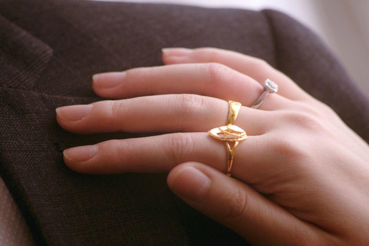 Love Human Hand Ring Human Body Part Wedding