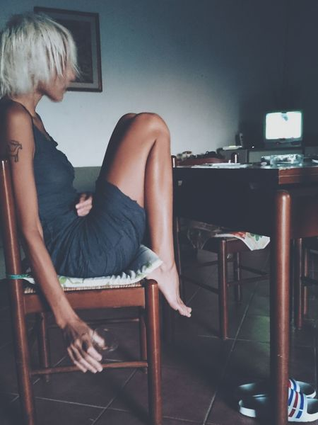 Prosecco, football, old school tv... Love Italy Relaxing That's Me Girl The Stylist - 2014 EyeEm Awards