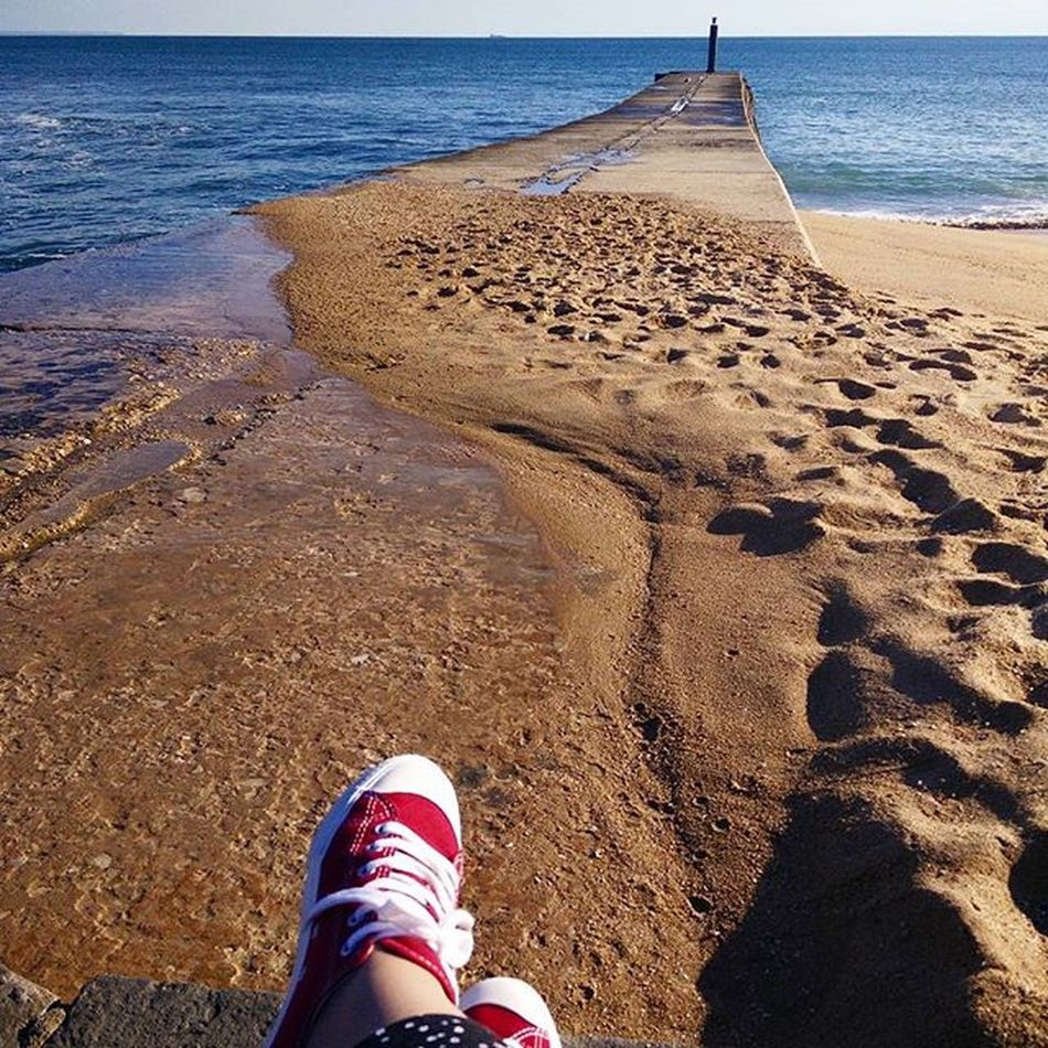 Feelings Vscolife Life Oceanview Beach Vacations Enjoyit Sunnydays Redshoes Red Relaxing Blue Loveblue Sand Shooters_pt Shootoftheday Springiscomingsoon Shootingtheglobe Laliphotography Landscape Cascaislovers Cascais Portugal Faded Faded_world