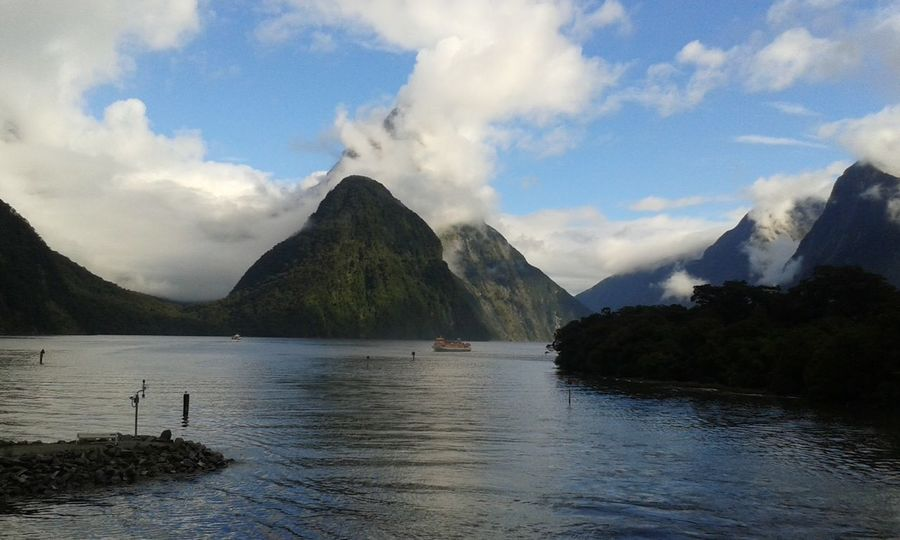 Milford Sound New Zealand Landscape