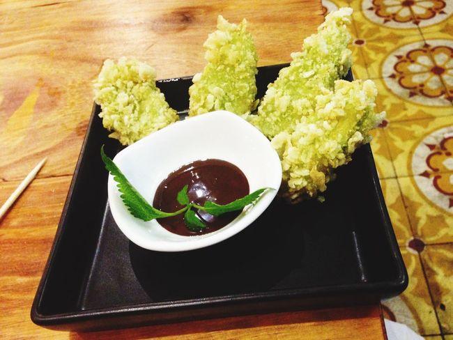 Foodphotography Banana Coated Young Rice Chocolate Sauce So Good!!!