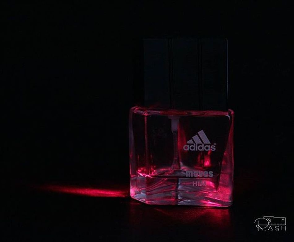 Adidas Perfume Lights Red Love Playing Wid Colors😄