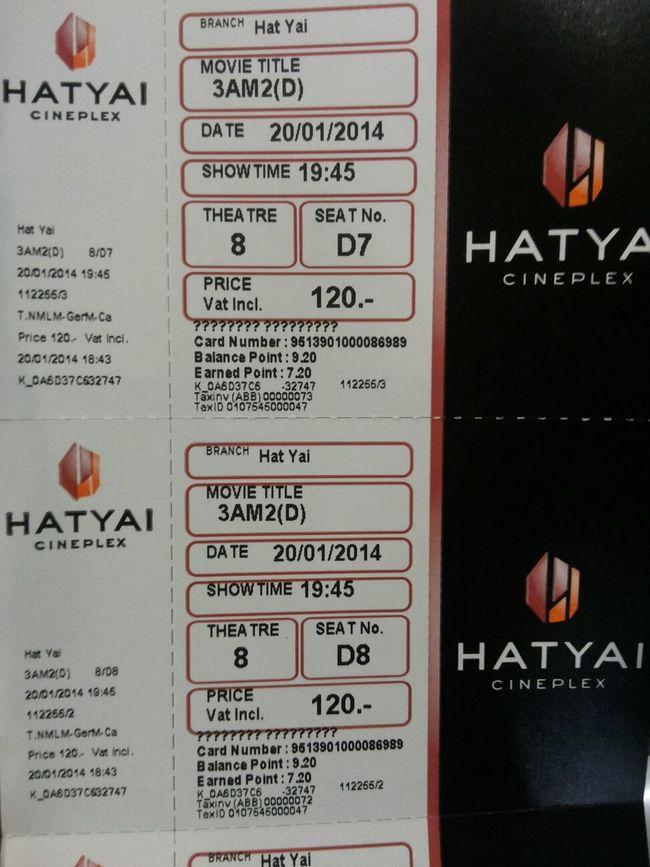 หนังไทยดู 2D ก็พอ Movies Hatyaicineplex Central Festival Hatyai Thaimovie
