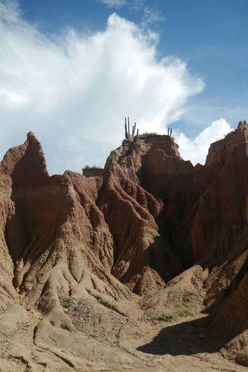 Desert Sand Rock - Object Sky Nature Outdoors Landscape No People Day Sand Dune Red Desert Cloud - Sky