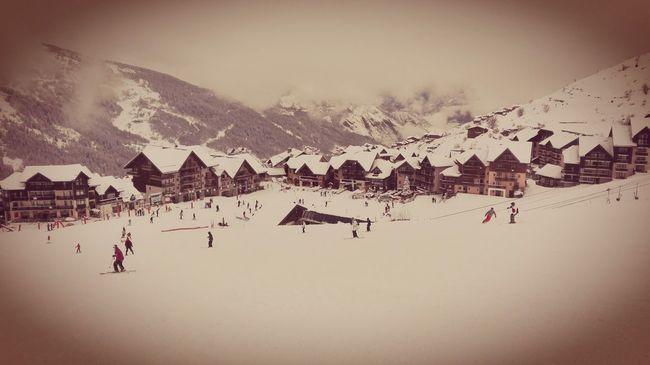 Skiing ❄ Valmeinier Fun