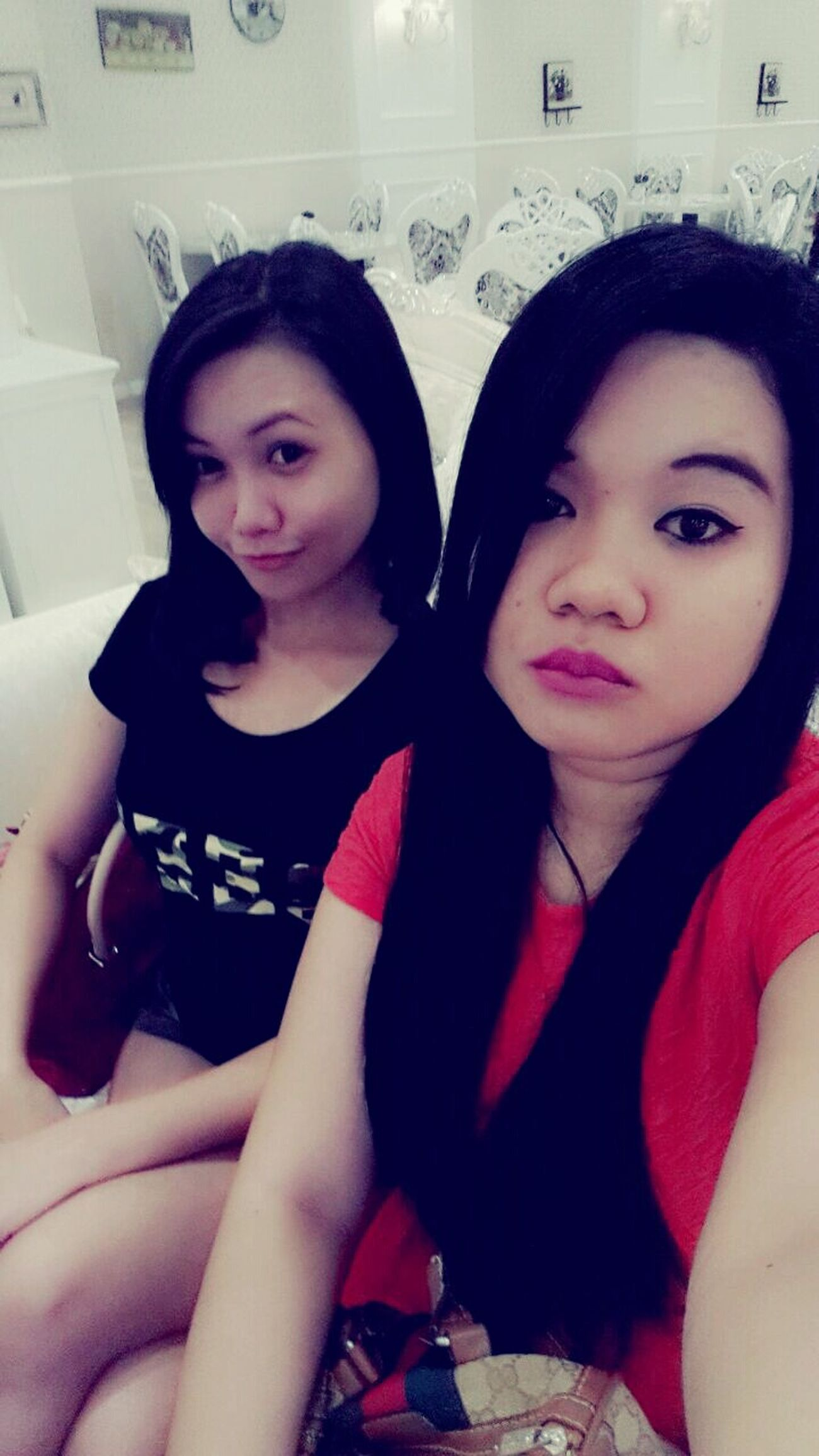 Selfie Having Fun :) w My Bff <3 Beauty Asian Girl
