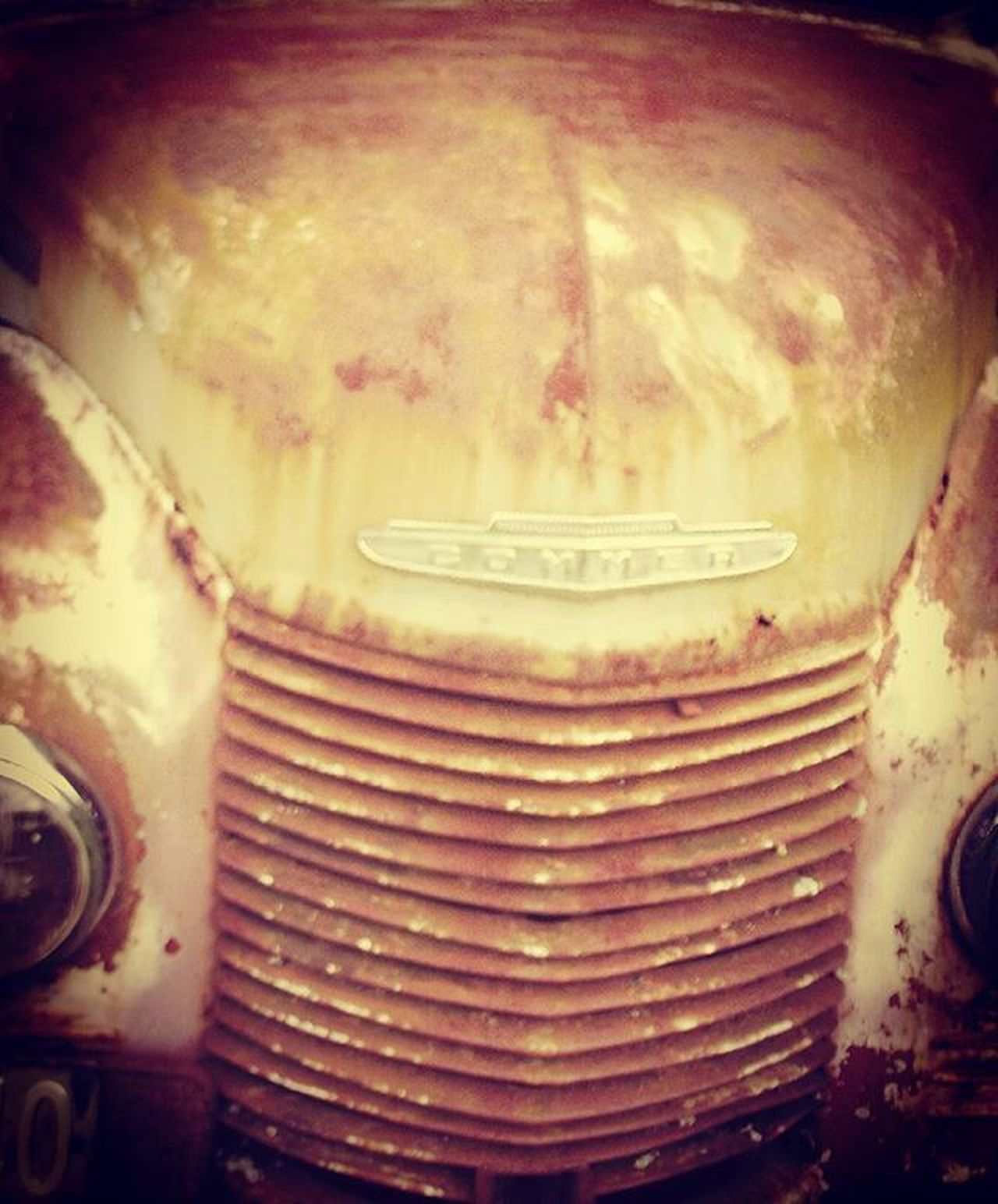 Rust Wreck Commer Truck Farm Farmtruck Old Grill Vehicle Bonnet Rustlord_carz Rustlord Abandon_all_hope Flaming_rust