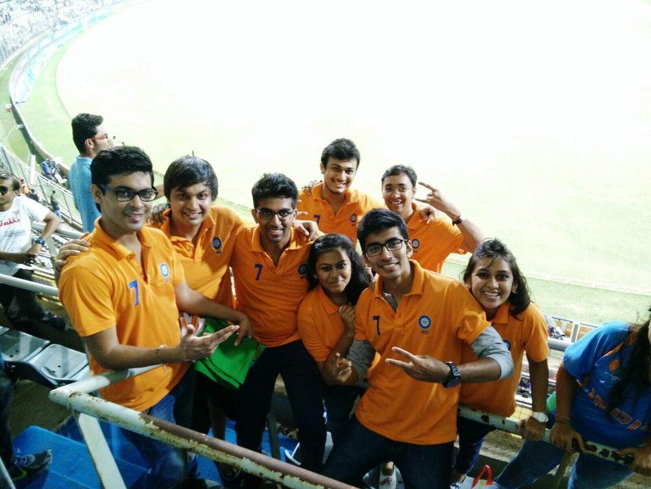 Orange gang Indiavssouthafrica Beating The Heat