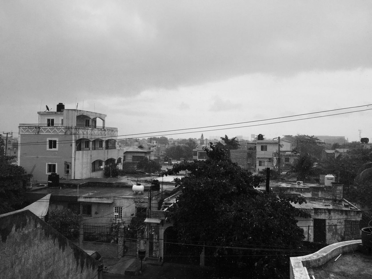 IPhoneography IPhone Cancun Rainy Days My Room Roomview
