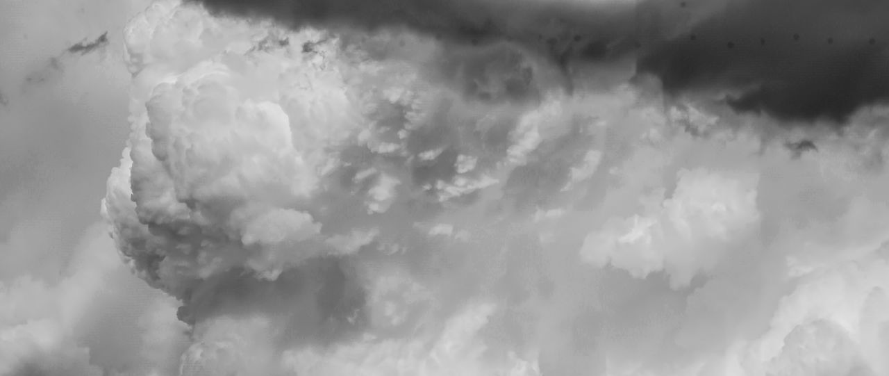 Cloudscape - Building, The Wall Abstract B&w Backgrounds Beauty In Nature Black And White Building Cloud Cloud - Sky Cloud Panorama Cloudscape Colorado Springs Colors Cumulus Cumulus Cloud Day Dramatic Sky Nature No People Outdoors Panorama Scenics Sky Sky Only Storm Storm Cloud Weather