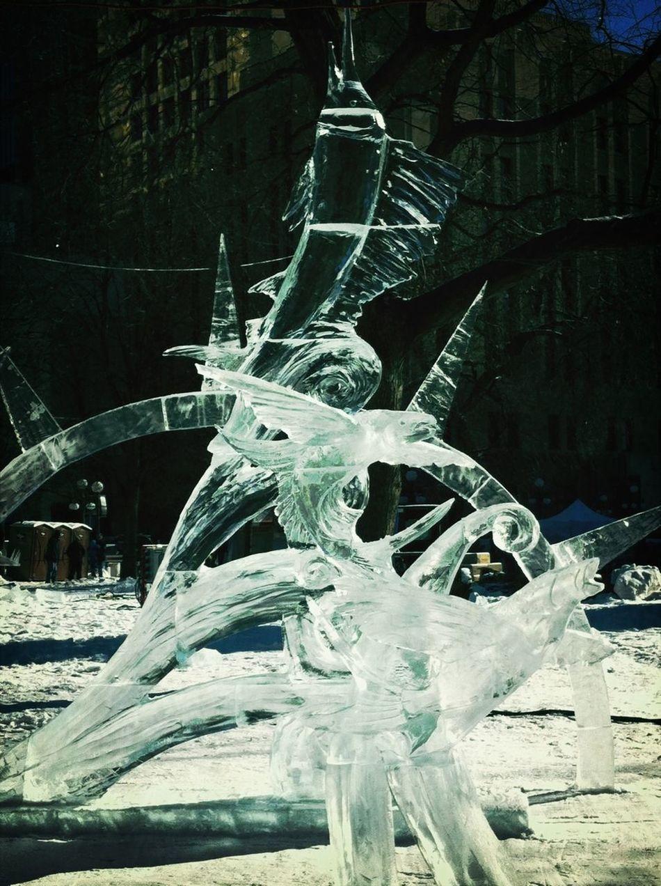 Ice fishing ! Art Ice Freezing Cold