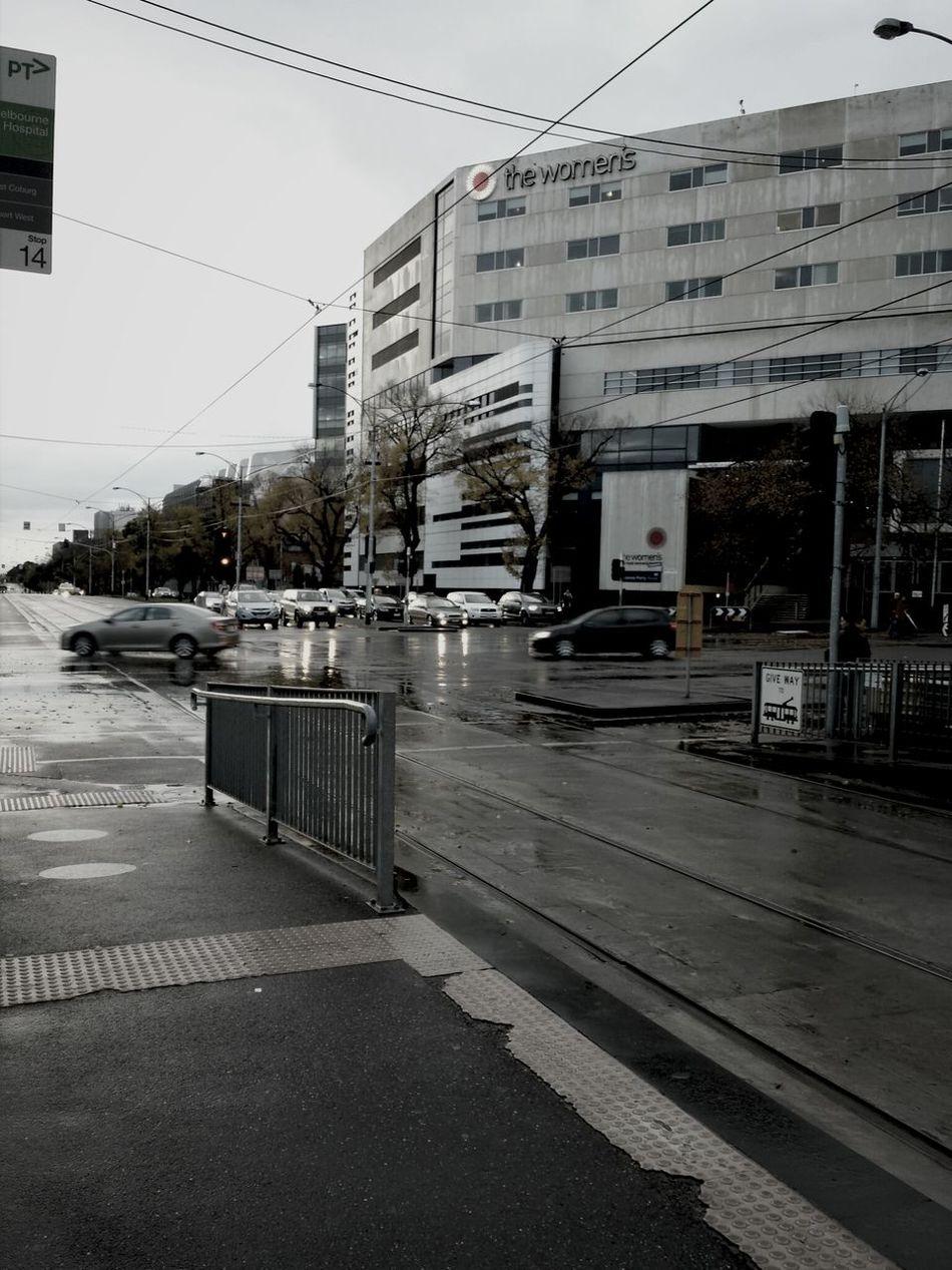 Melbourne CBD Street City Melbourne