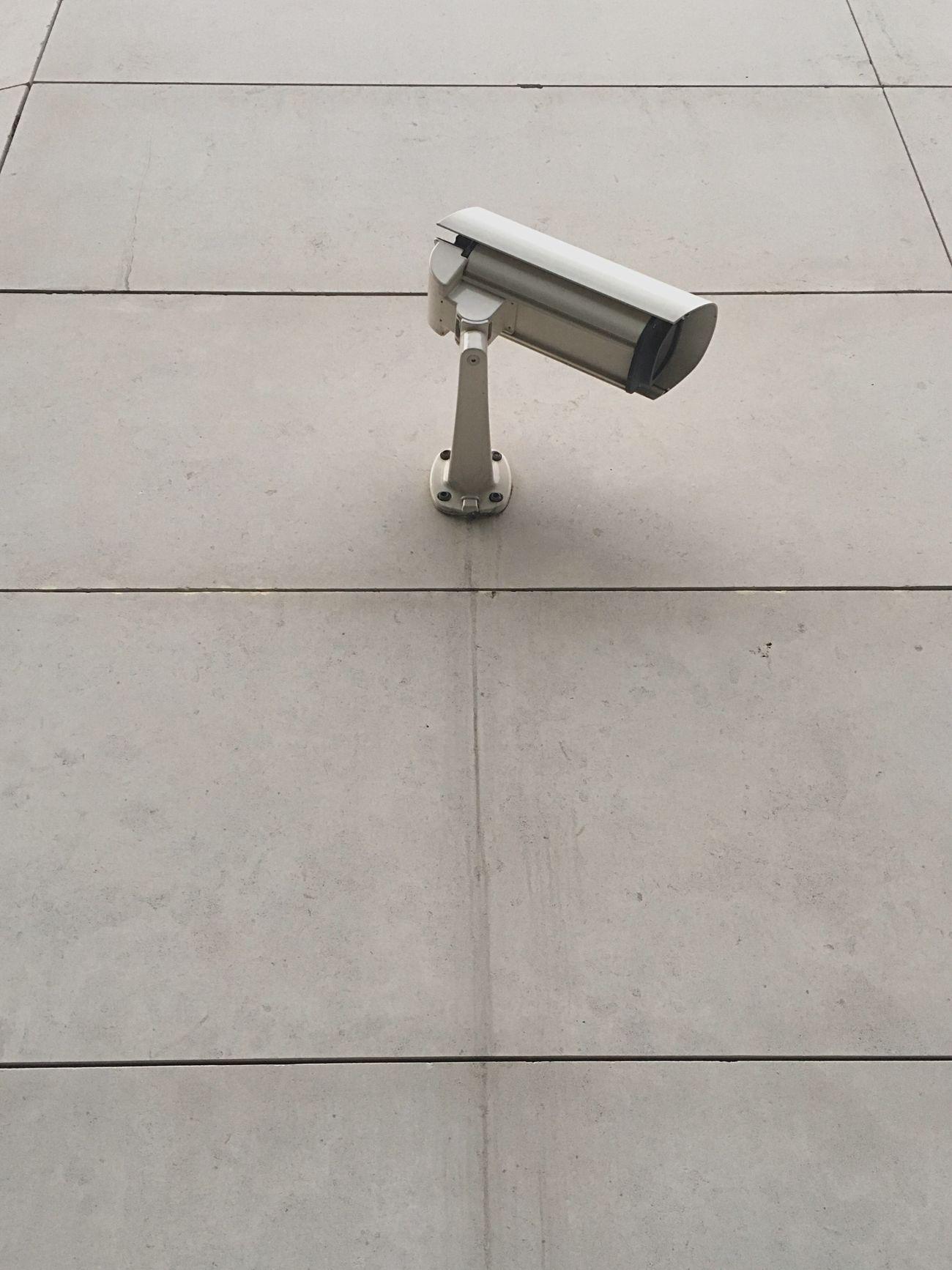 """let me see"" No People überwachung Big Brother Camera Wall Geometric Shape Monitoring Beton"